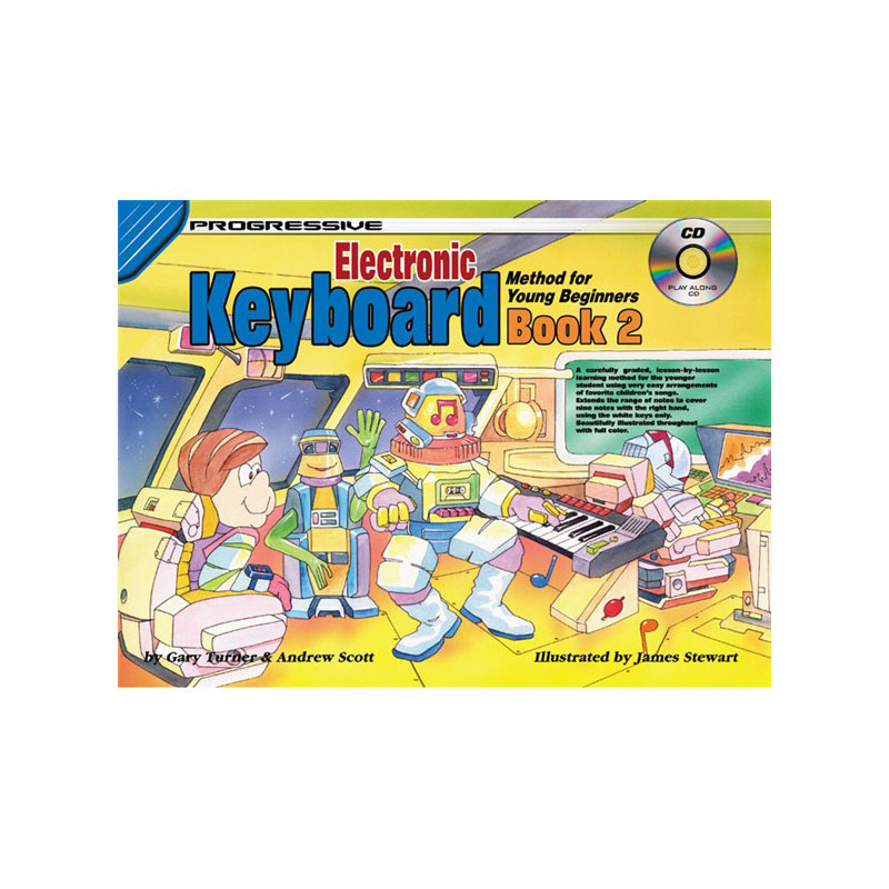 Progressive Keyboard Method Young Beginners Bk 2