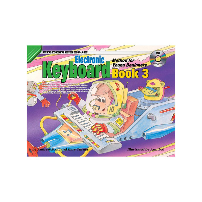 Progressive Keyboard Method Young Beginners Bk 3