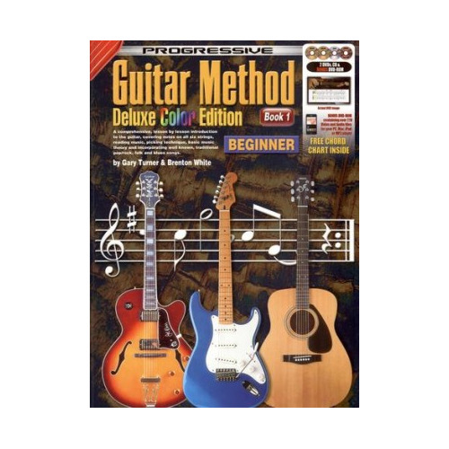 Progressive Guitar Method 1 Deluxe Colour Edition