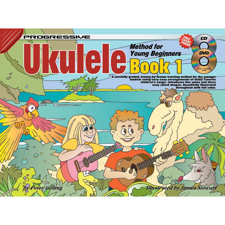 Progressive Ukulele Method for Young Beginners Bk1