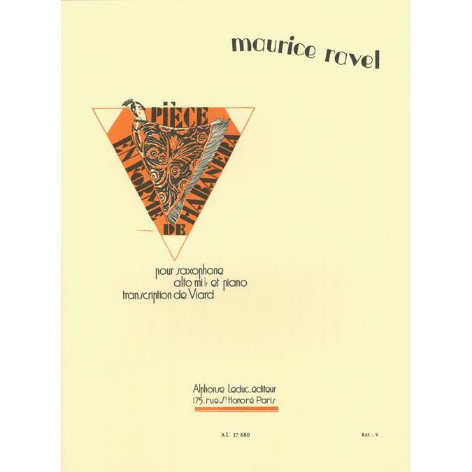 Ravel: Piece En Forme De Habanera (Alto Sax)