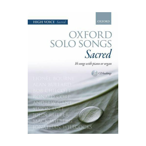 Oxford Solo Songs Sacred High Voice