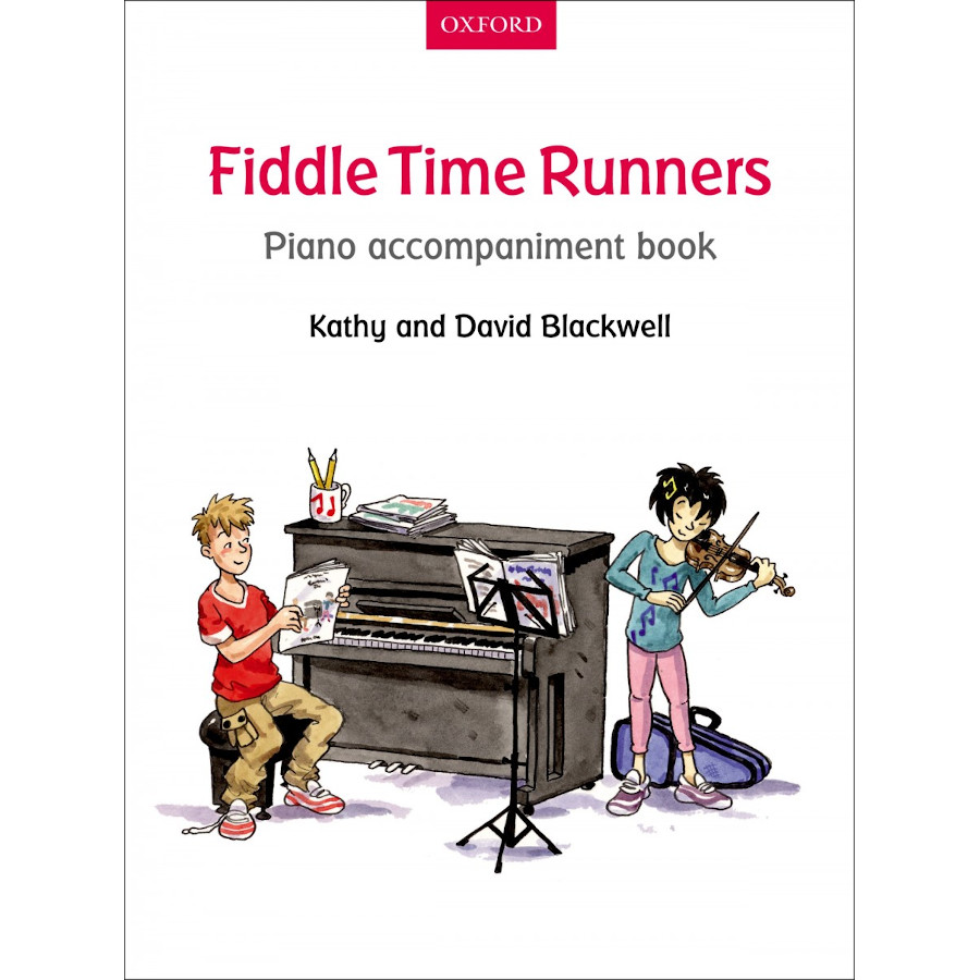 Fiddle Time Runners (Piano Accomp Book)
