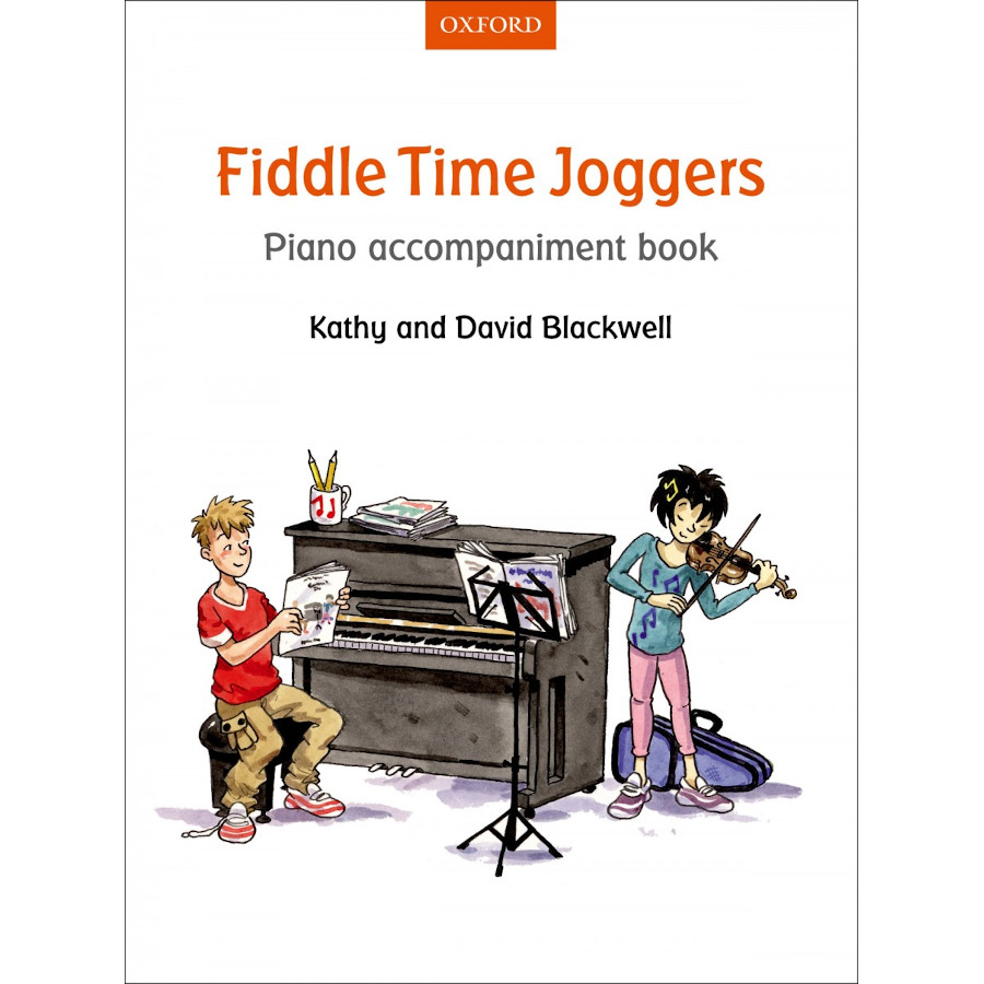 Fiddle Time Joggers (Piano Accomp Book)