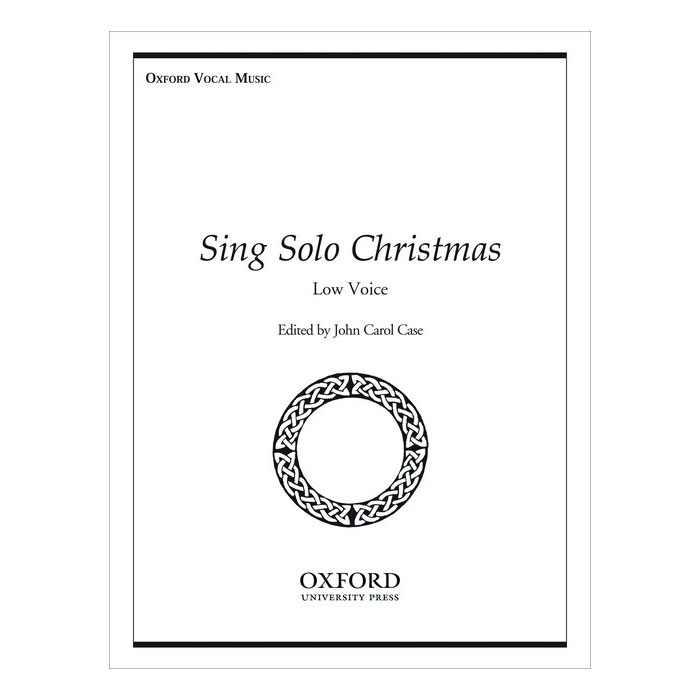 Sing Solo Christmas: Low Voice