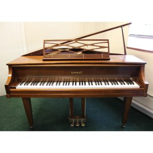 "Secondhand Kimball 4'6"" grand in Walnut satin finish"