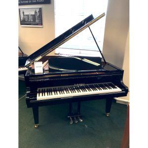 Secondhand K. Kawai GM10 c2011 in Polyester black finish