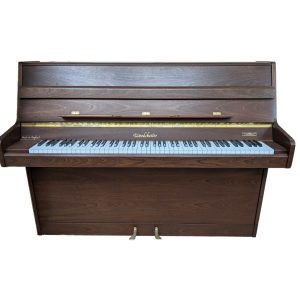 Secondhand Woodchester upright in Satin Mahogany finish