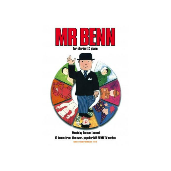 Mr Benn for Clarinet and Piano