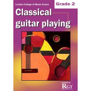 LCM Classical Guitar Playing Grade 2 -2018 Rgt