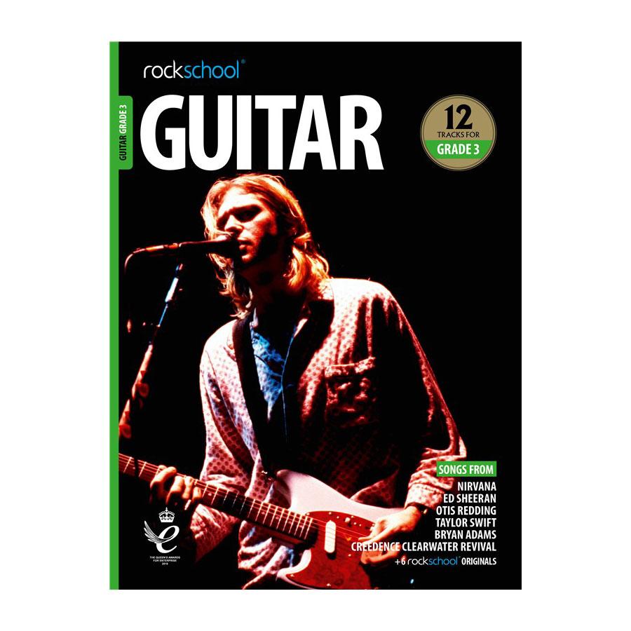 Rockschool Guitar - Grade 3 2018-2024