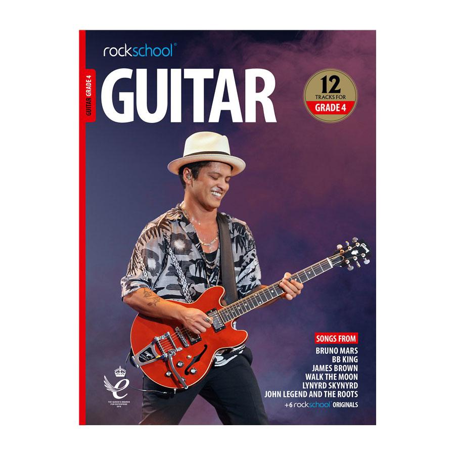 Rockschool Guitar - Grade 4 2018-2024