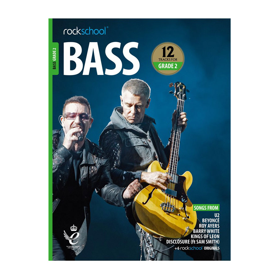 Rockschool Bass - Grade 2 2018-2024