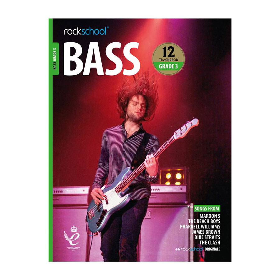 Rockschool Bass - Grade 3 2018-2024