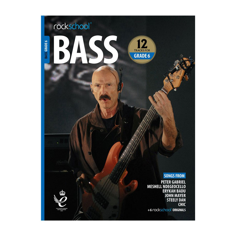 Rockschool Bass - Grade 6 2018-2024