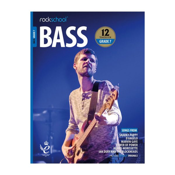 Rockschool Bass - Grade 7 2018-2024