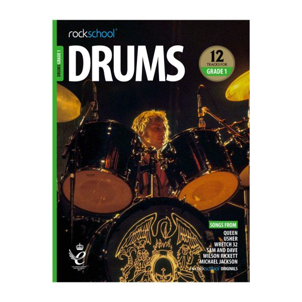Rockschool Drums - Grade 1 2018-2024