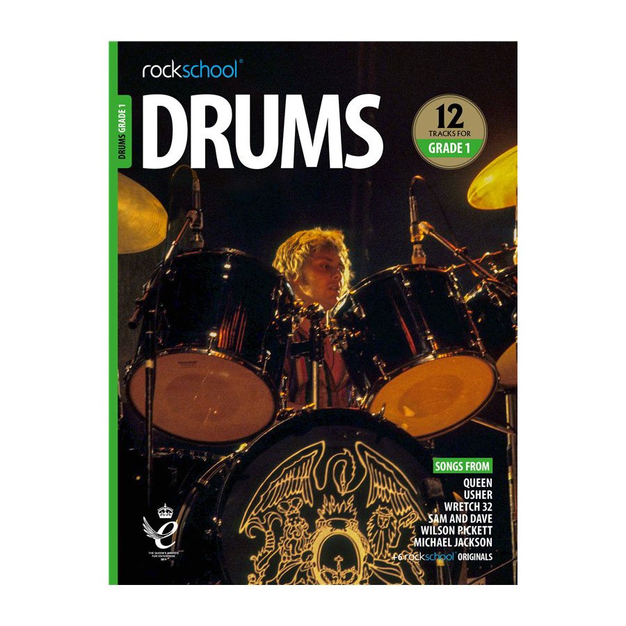 Rockschool Drums - Grade 1 2018-2024
