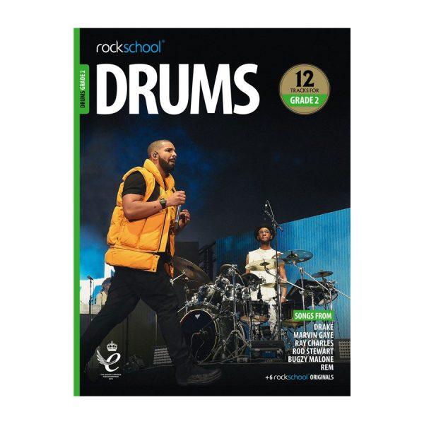 Rockschool Drums - Grade 2 2018-2024
