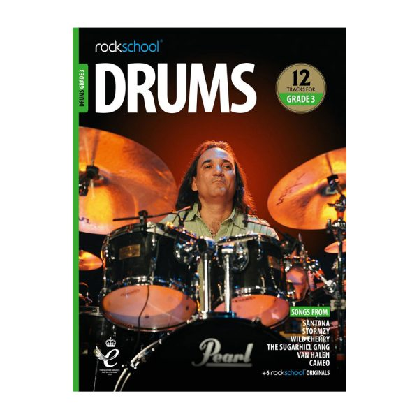 Rockschool Drums - Grade 3 2018-2024