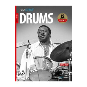 Rockschool Drums - Grade 4 2018-2024