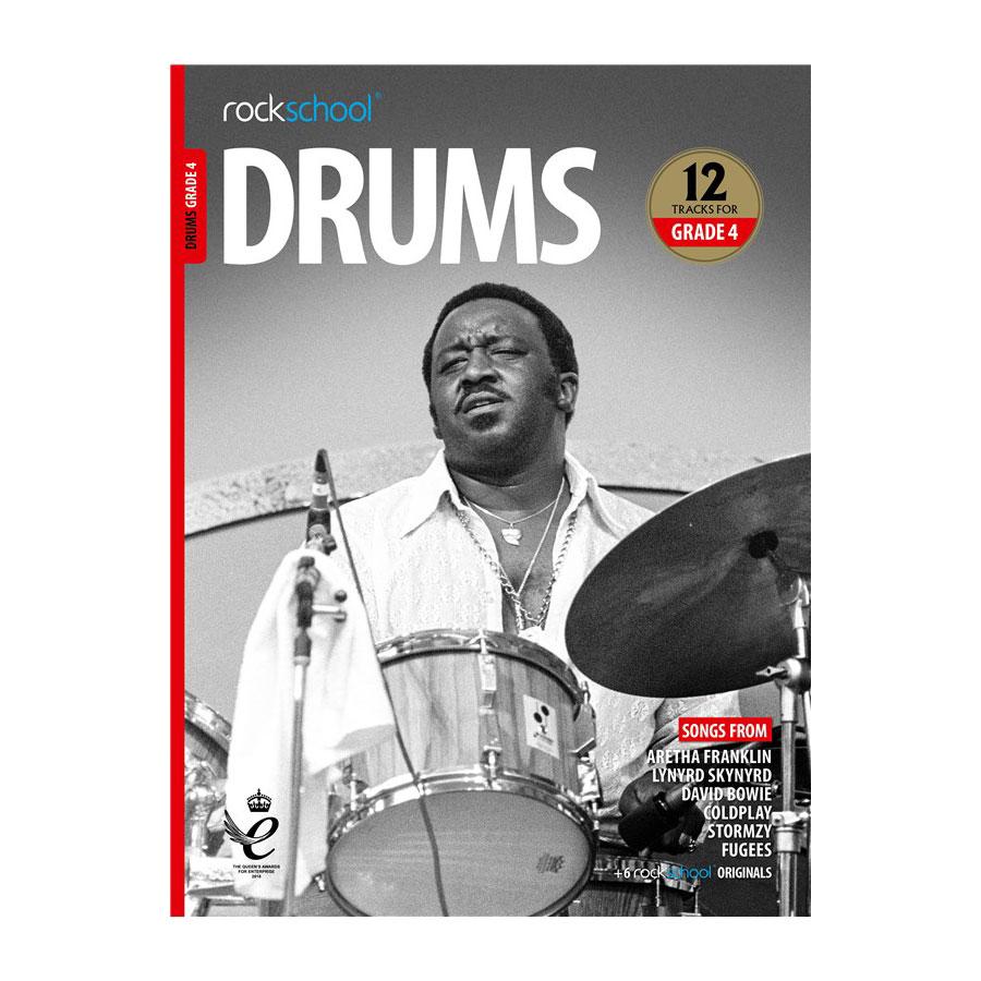 Rockschool Drums - Grade 4 2018-2024