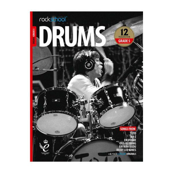 Rockschool Drums - Grade 5 2018-2024