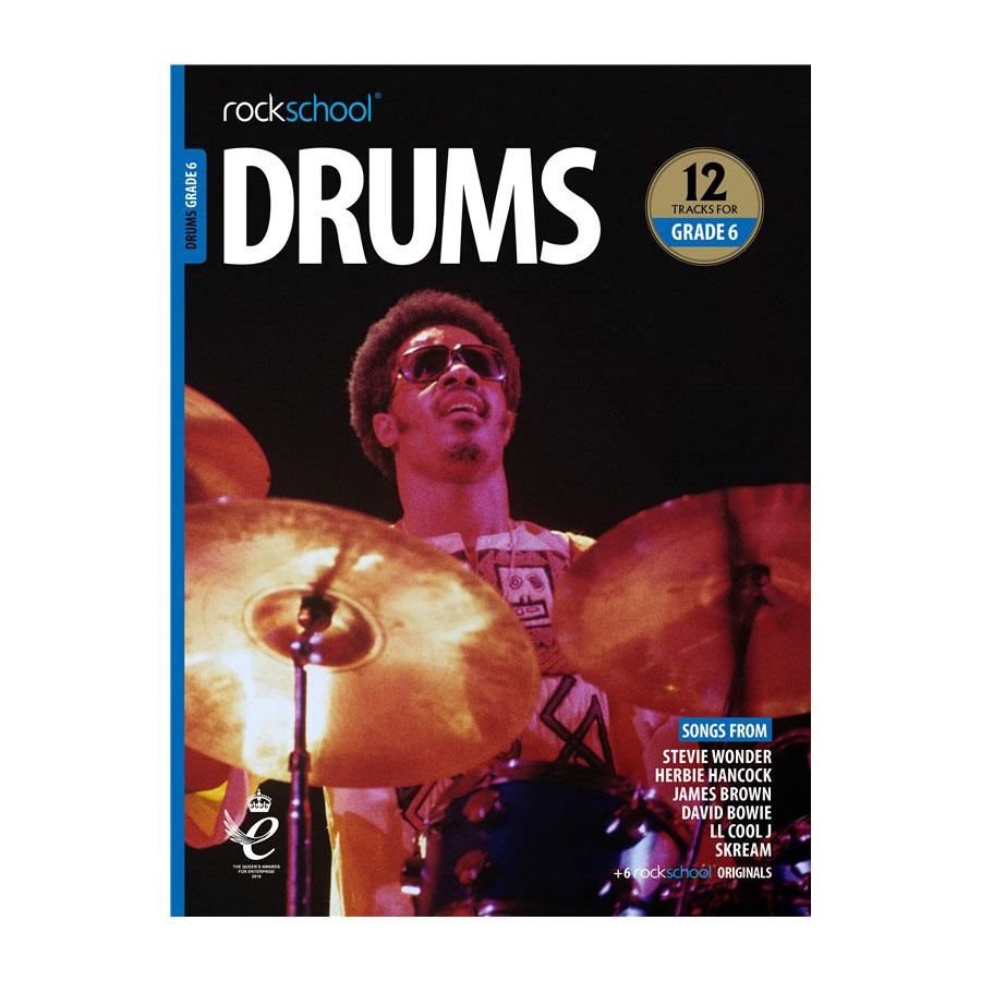 Rockschool Drums - Grade 6 2018-2024
