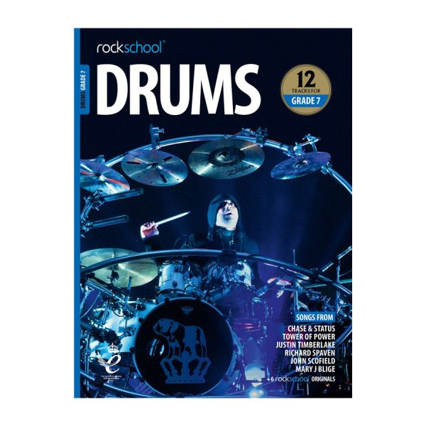 Rockschool Drums - Grade 7 2018-2024