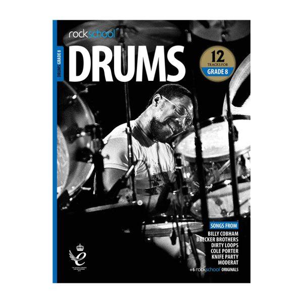 Rockschool Drums - Grade 8 2018-2024