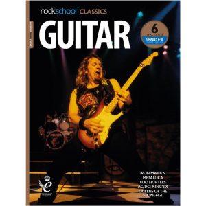 Rockschool Classics Guitar - Grade 6-8 Compendium