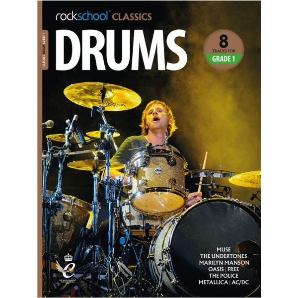 Rockschool Classics Drums - Grade 1