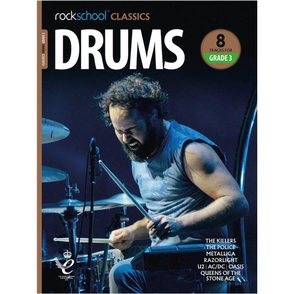 Rockschool Classics Drums - Grade 3