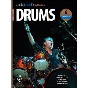 Rockschool Classics Drums - Grade 6-8 Compendium