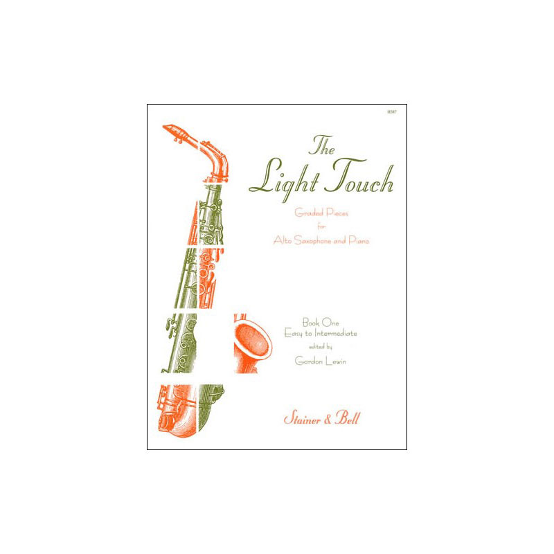 The Light Touch - Bk 1 for Alto Sax & Piano