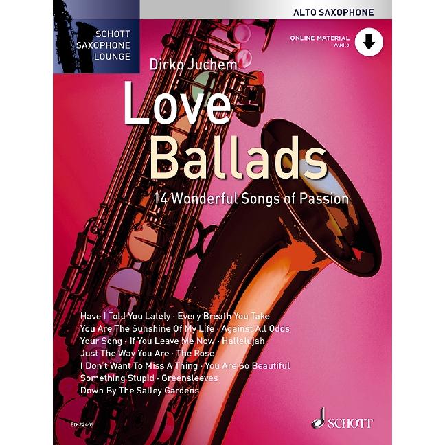 Schott Saxophone Lounge: Love Ballads (Tenor)