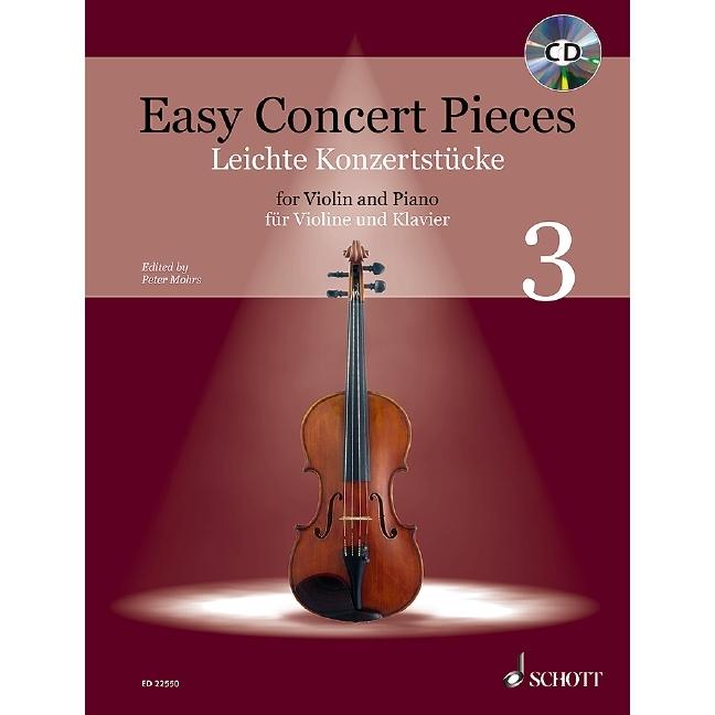 Easy Concert Pieces 3 (Violin)