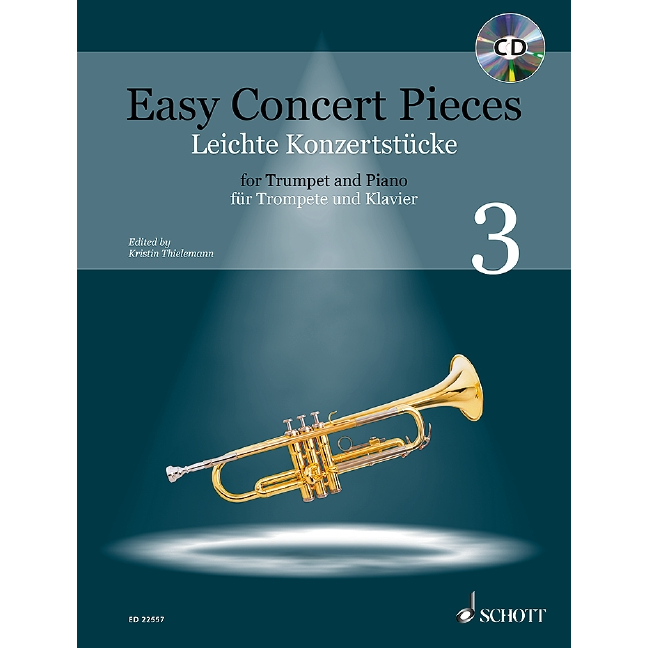 Easy Concert Pieces Trumpet Book 3