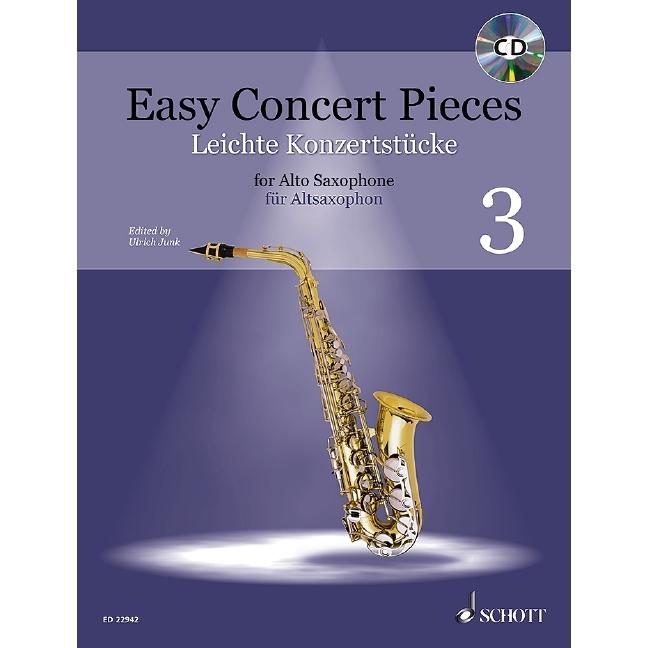 Easy Concert Pieces Alto Saxophone Book 1