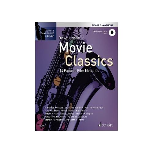 Schott Saxophone Lounge: Movie Classics (Tenor)