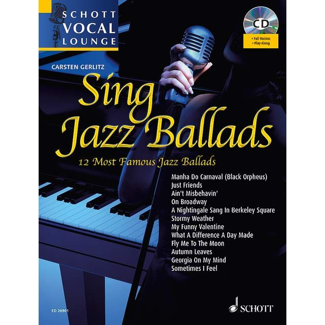 Schott Vocal Lounge: Sing Jazz Ballads