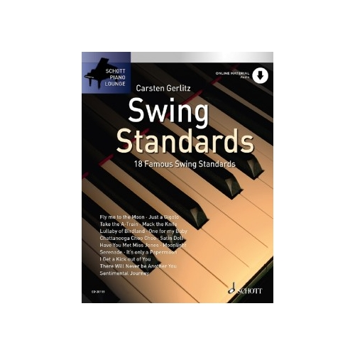 Schott Piano Lounge: Swing Standards + CD