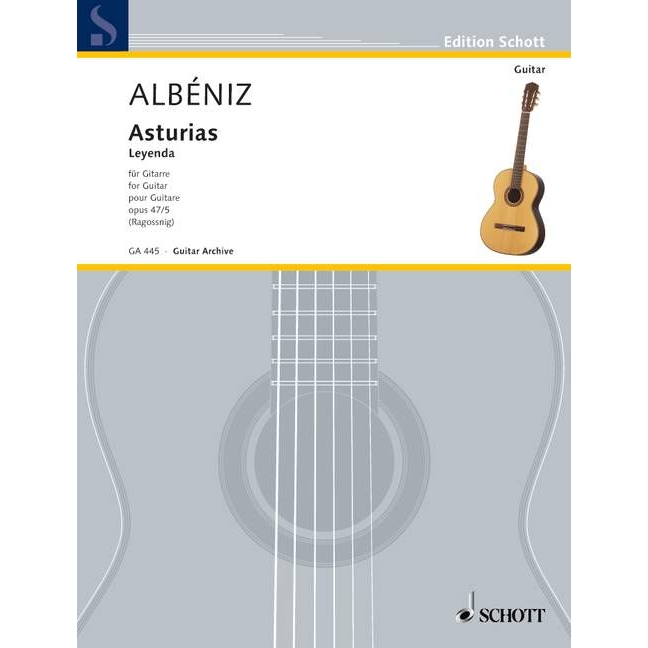 Albeniz: Asturias Op 47/5 for Guitar