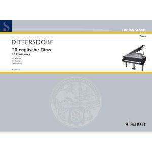 Dittersdorf: 20 English Dances (ED3935)