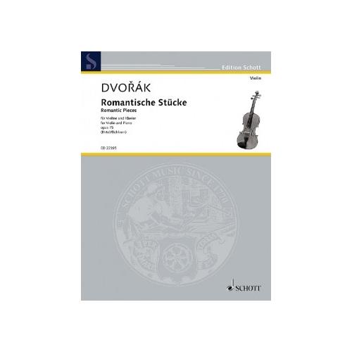 Dvorak: Romantische Stucke (Romantic Pieces) Op 75
