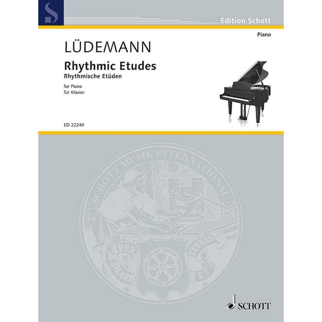 Ludemann: Rhythmis Etudes for Piano