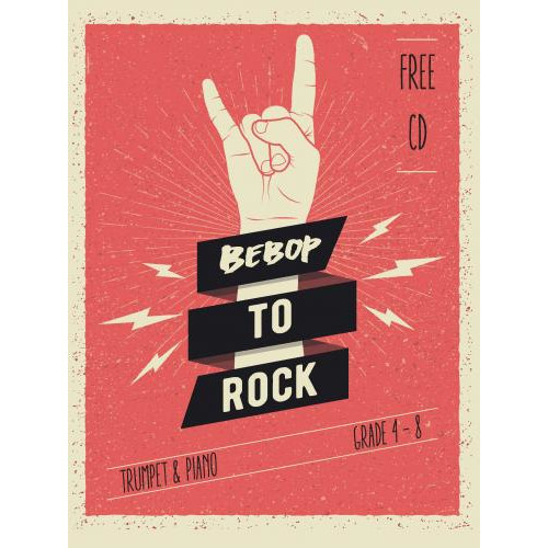 Bebop to Rock (Trumpet & Piano) w/CD