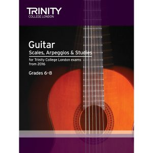 Trinity Guitar Scales, Grade 6-8 from 2016