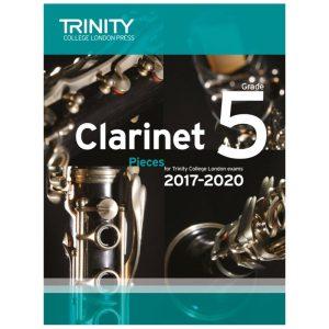 Trinity Clarinet Pieces Grade 5 2017-2020
