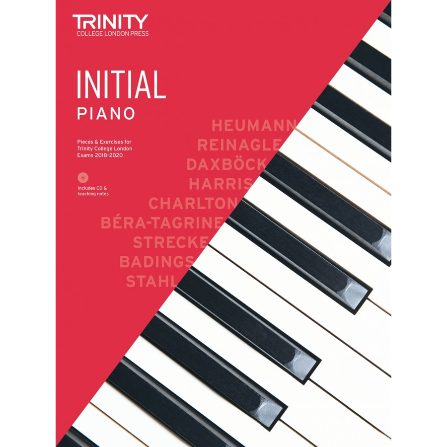 Trinity Piano Initial 2018-2020 with CD